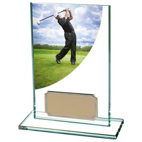 Colour Curve Golf Male Jade Crystal 125mm